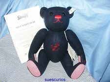 Steiff Felt Teddy Bear Dark Blue With Anchor Limited Edition - New EAN 035630