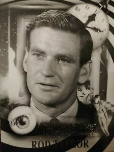 Twilight Zone Archives H21 Rod Taylor 031/150 Hall Of Fame Card Rittenhouse 2020