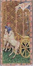 Visconti Tarot Card Deck CHARIOT Wicca Symbols Prints Wall Posters Decor Art