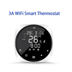 3A Smart Wifi Thermostat Water Heat Water Boiler Remote Control Support Alexa