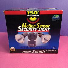 Twin Flood Security Spot Light Outdoor LED Outside Motion Sensor Lighting NIB