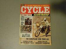 JUNE 1968 CYCLE ILLUSTRATED MAGAZINE, 1ST EVER ISSUE,VOL/1#1,MOTOGUZZI,BSA 650,