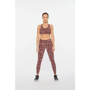 2XU Women's Print Fitness Mid Rise Compression Tights - 2021