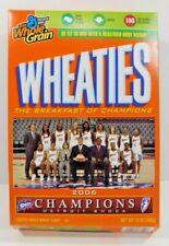 WNBA SHOCK Women's Basketball 2006 General Mills WHEATIES, EMPTY Cereal Box