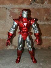 Marvel Legends - Iron Man Silver Centurion - Loose - 2004 - Toy Biz