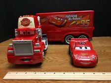 BIG Lightning McQUEEN and  MACK Truck * Shake N Go * Disney Pixar Cars VG