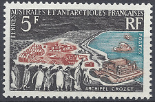 FRANCE TAAF N°20 ARCHIPEL CROZET NEUF ** LUXE GOMME D'ORIGINE MNH