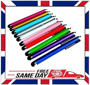 10 x STYLUS PENS for TOUCH SCREEN IPAD TABLET SAMSUNG SURFACE PRO LENOVO etc.
