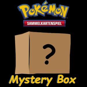 Pokemon Mystery Set Box/Deck/Geschenk PINs/Vkarte/50 Karten/Tin Box/Deutsch/NM