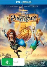 Tinker Bell And The Pirate Fairy (DVD & Digital Copy, 2014) New & Sealed, Disney