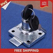 Hardware Steel Drawer Lock Desk Wardrobe Furniture Cabinet Locker With2 Keys
