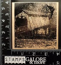 PEDDLERS PACK NEW RUBBER STAMPS CHITWOOD COVERED BRIDGE WATER OREGON