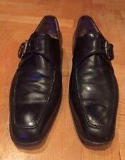 Fratelli Rossetti para hombres zapatos talla 8.5 Reino Unido, Negro Ganga!!!