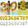 "40"" Giant Foil Balloons Number Shape Helium Wedding Birthday Party Christmas Y1"