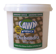 Lawn Pro 2kg Dichondra Blend Lawn Seed Covers 20sqm Oversows 40sqm