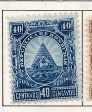 Honduras 1890 Early Issue Fine Mint Hinged 40c. 175699