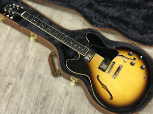 Booked Gibson Es-335 Satin Vintage Burst Secondhand Selected By Koeido