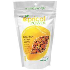 Apricot Power Bitter Raw Apricot Kernels Seeds - 8 oz B-17 AMYGDALIN SUPER SEED