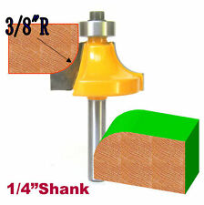 "1pc 1/4"" Sh 3/8"" Radius 1-1/4"" Cutting Diameter Round Over Router Bit sct-888"
