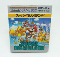 GAME BOY GB NINTENDO SUPER MARIO LAND Japan Version Complete