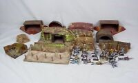 Moritz Gottschalk/Elastolin WWI Model Battle Field With French & German Figures