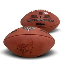 Peyton Manning Colts Broncos Autographed NFL Authentic Signed Football PSA DNA B