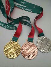 2018  PYEONGCHANG OLYMPICS ICE HOCKEY MEN'S TOURNAMENT MEDALS SET