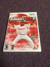 Major League Baseball 2K11 (Nintendo Wii, 2011) Brand New