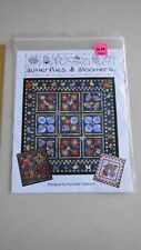 Quilt Country Quilt Pattern QC246 Butterflies & Bloomers NIP