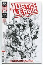 JUSTICE LEAGUE #1 JIMMY CHEUNG B & W SKETCH VARIANT COVER - DC/2018 - 1/100