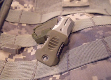 """Pocket Shiv"" Mini Knife, OD, MOLLE Attachment Clip Included, NEW"