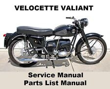 Velocette classic vintage parts ebay velocette valiant owners workshop service repair spare parts manual pdf on cd r asfbconference2016 Choice Image