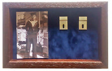 Large Royal Navy Medal Display Case for 5 - 7 Medals With Photograph