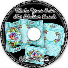 Make Your Own Tri Shutter Card Sets CD-ROM 22