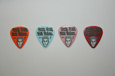 Rick Nielsen Cheap Trick Stage Used Custom Tour Guitar Pick Lot of 4 2016 Rare