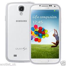 Samsung Galaxy S4 Protector cover/case-Blanco Original Oficial Nuevo
