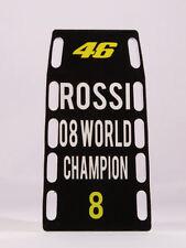"MINICHAMPS V.ROSSI MODELLINO PITBOARDS MOTOGP SCALA 1/12 ""8 TITOLI MONDIALI"" NEW"