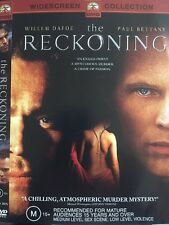 THE RECKONING- DVD - William Dafoe, Paul Bettany - Region 4 - Free Post!!