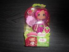 poupee lilie framboise, charlotte aux fraises : 15 cm , fraisi amies