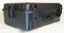 Tactical Case 22 Inch Black, Cubed Foam Interior for Equipment Weather/Water