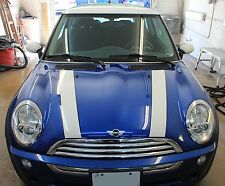 Mini Cooper Standard Bonnet HOOD Stripe Graphic Decals  FIts All YRs & MODELS