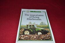 Hurlimann Series XT Tractors Dealers Brochure LCOH