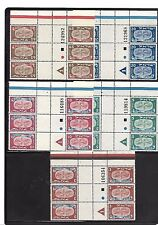 ISRAEL STAMPS  1948 NEW YEAR FESTIVAL 10-14 PL. BL. TETE BECHE NO1 M.N.H