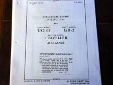 Beechcraft UC-43, GB-2, Traveller aka 17 Staggerwing Structural Repair Manual