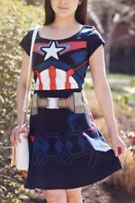 Captain America Avengers: Age of Ultron - Dress (Woman's, Medium)