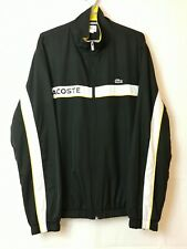 Lacoste Sport Devanlay Men's Black Mix Tracksuit Jacket Size 6/192