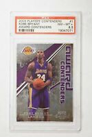 2009 PLAYOFF CONTENDERS KOBE BRYANT AWARD CONTENDERS PSA NEAR MINT 8.5 #1 (MR)
