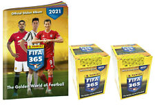 "Panini Fifa 365 Sticker ""2021"" -  1x Sammelalbum + 2 Display je 50 Stickertüten"