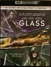 GLASS 4K ULTRA HD BLU RAY 2 DISC SET FREE WORLD WIDE SHIPPING BUY IT NOW BRUCE