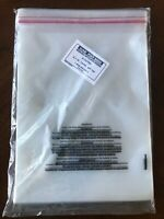 100 8x10 Self Seal Suffocation Warning Clear Poly Bags 1.5 MIL Uline S-16790